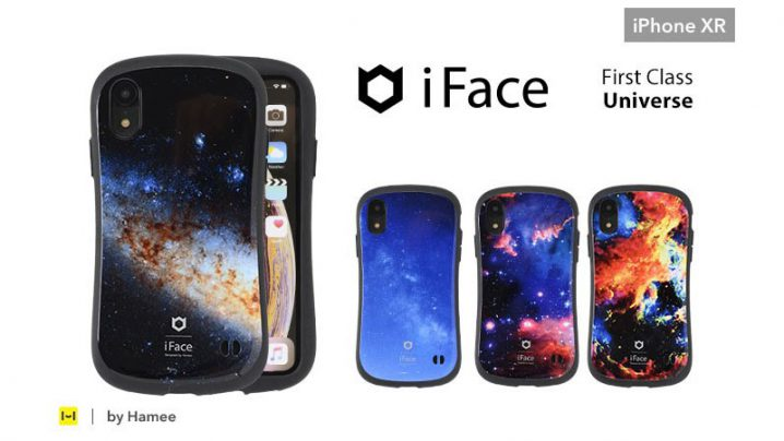 iPhone XR用 iFace First Class Universeケース