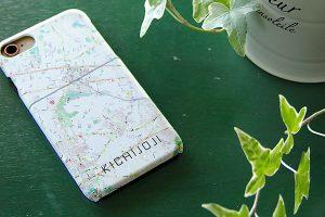 地図柄iPhoneケース