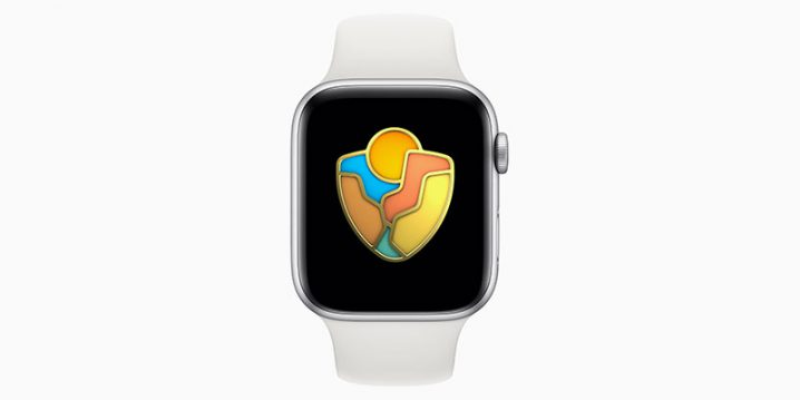 Apple Watch 国立公園チャレンジ2019