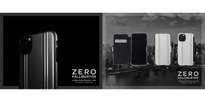 ZERO HALLIBURTON Hybrid Shockproof case for iPhone 11 Pro