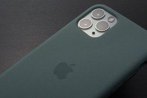 Apple純正 iPhone 11 Proシリコーンケース