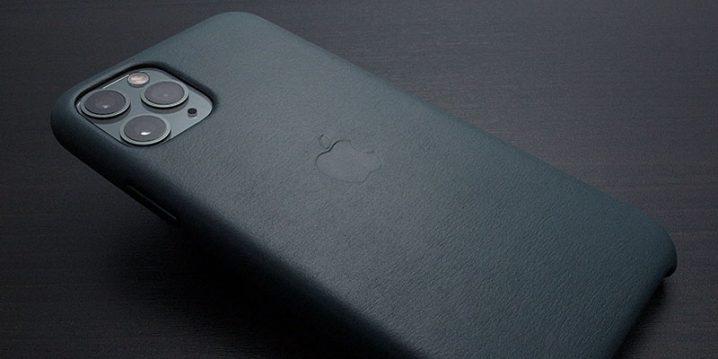 Apple純正 iPhone 11 Proレザーケース