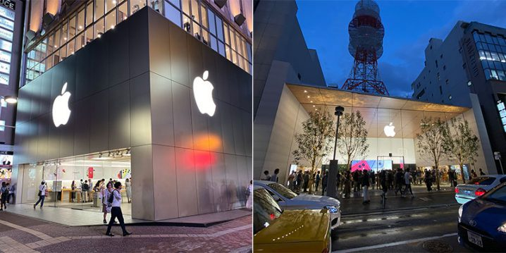 Apple福岡天神とApple福岡