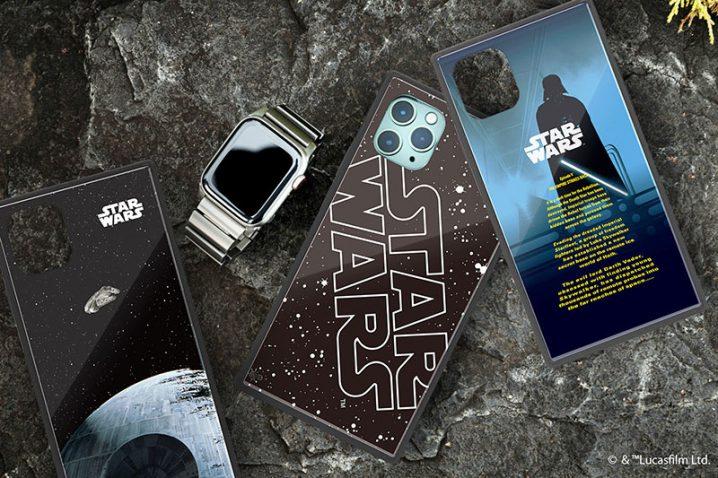 STAR WARS iPhone 11/iPhone 11 Pro/iPhone 11 Pro Max用 ガラスハイブリッドケース