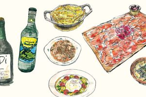 アートラボ:島喜実子と描く温もりが伝わるフードイラストレーション