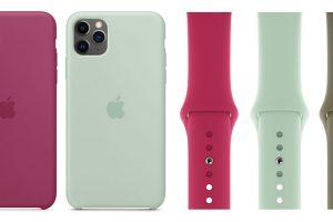 iPhone 11 Pro/11 Pro Max用のApple純正「シリコーンケース」とApple Watchスポーツバンド