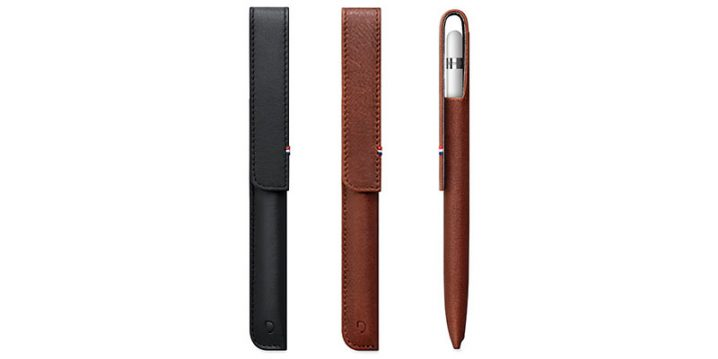 Decoded Leather Magnetic Pencil Sleeve for Apple Pencil