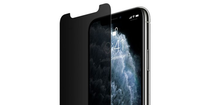 Belkin InvisiGlass Ultra Privacy Screen Protection for iPhone 11 Pro