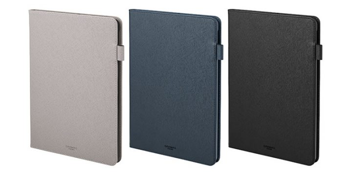 "GRAMAS COLORS ""EURO Passione"" PU Leather Book Case for iPad 7th Generation"