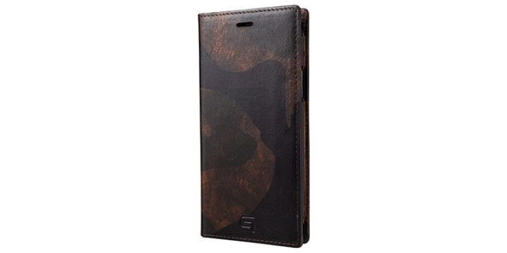 GRAMAS Desert Storm Genuine Leather Book Case for iPhone 11 Pro/iPhone XS/X