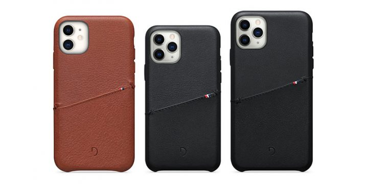 Decoded Leather Card Case for iPhone 11 Pro