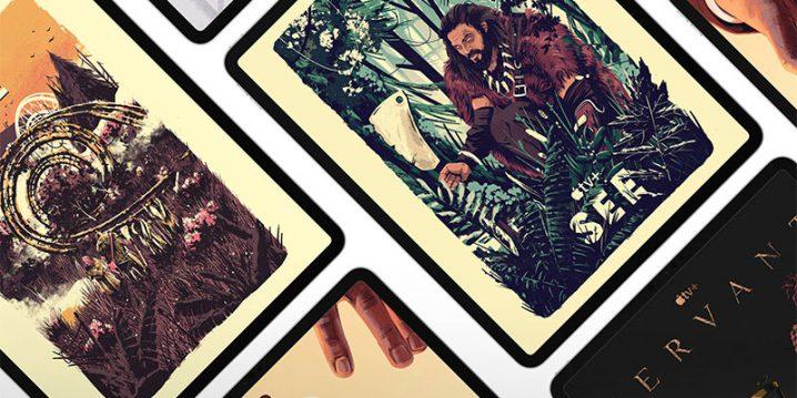 Apple TV+ iPadポスターシリーズ