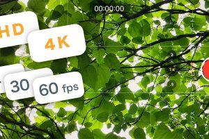 iPhone 11/11 Proのビデオ撮影設定