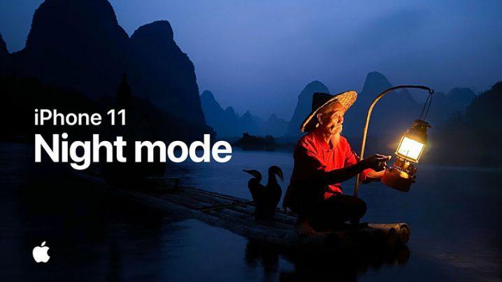 iPhone 11 — Night mode