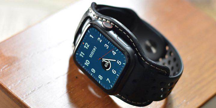 バンナイズ Apple Watch用レザーベース