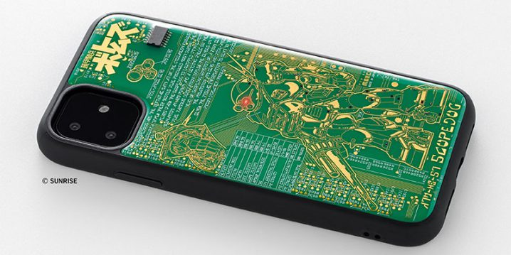 FLASH スコープドッグ 基板アート iPhoneケース