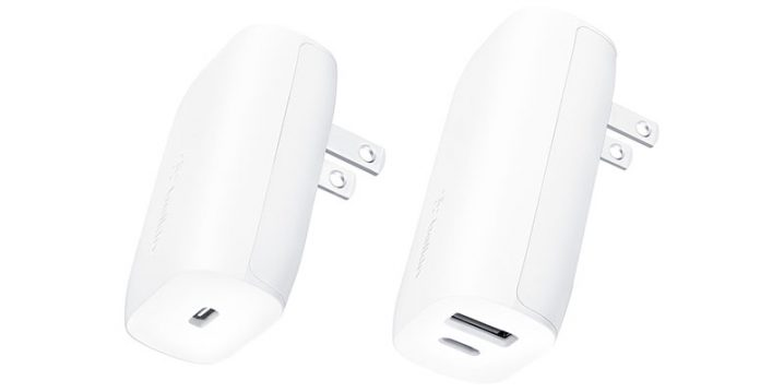Belkin BOOST↑CHARGE 18W/30W USB-C Wall Charger + USB-C Cable with Lightning Connector