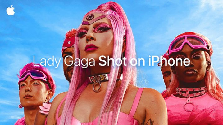 Shot on iPhone 11 Pro — Lady Gaga — Apple