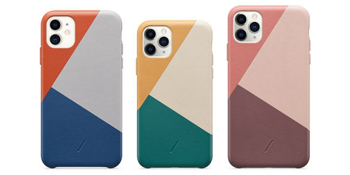 Native Union CLIC Marquetry Leather Case for iPhone