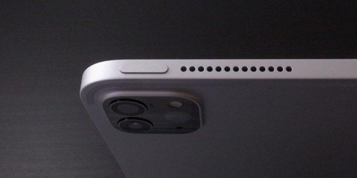 iPad Proのトップボタン