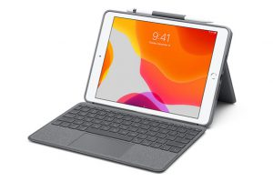 Logicool Combo Touch Keyboard Case with Trackpad for iPad