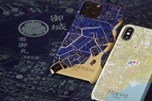 古地図柄iPhoneケース