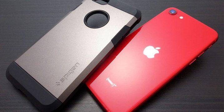 iPhone SEとケース