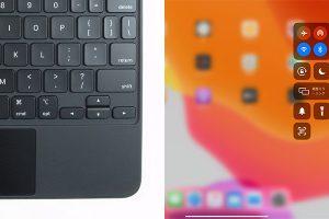iPad用Magic Keyboardとコントロールセンター