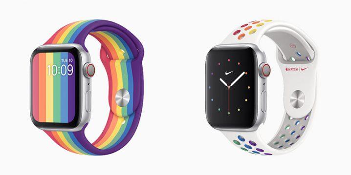 Apple Watch プライドエディションスポーツバンド