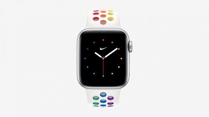 Apple Watch プライドエディション Nike スポーツバンド