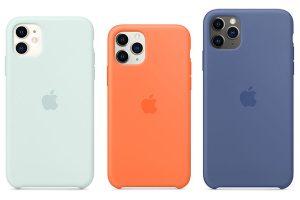 Apple純正iPhone用シリコーンケース