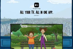 セントラル・パーク仕様のApple TV公式サイト
