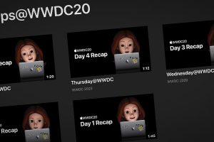 Recaps@WWDC20 ビデオのサムネイル画像