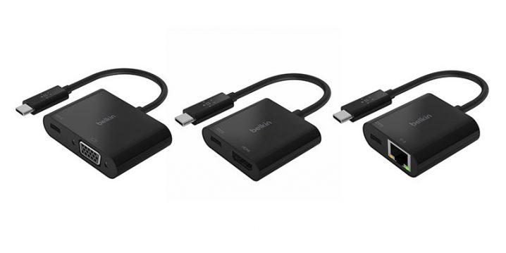 ベルキン USB-C変換アダプタ