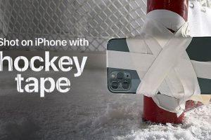 Shot on iPhone 11 Pro — Hockey Tape