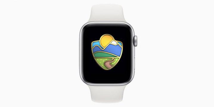 Apple Watch 国立公園チャレンジ