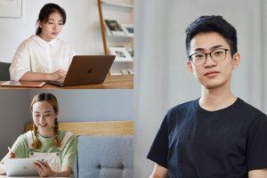 中国の学生ユーザーの写真
