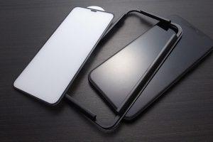 GAURUN(ガウラン)フルカバー型ガラスフィルム 4D プライムネット iPhone 11 Pro用