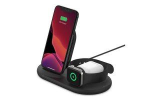 Belkin Appleデバイス用BOOST↑CHARGE 3-in-1ワイヤレス充電器