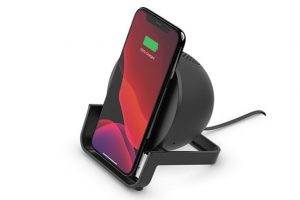 Belkin BOOST↑CHARGE ワイヤレス充電スタンド付きBluetoothスピーカー