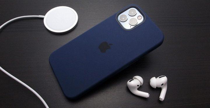 Apple純正 MagSafe対応iPhone 12 | iPhone 12 Proシリコーンケース