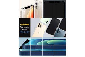 GAURUNのiPhone 12用ケースとガラスフィルム