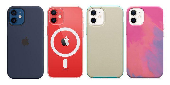 Apple純正とOtterBoxのiPhone 12 mini用ケース