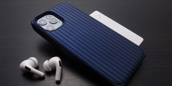"GRAMAS COLORS ""Rib-Slide"" Hybrid Shell Case for iPhone 12/12 Pro"