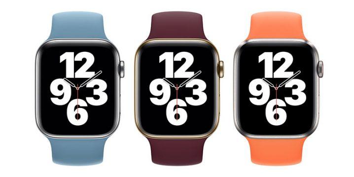 Apple Watch用スポーツバンドとソロループ