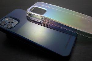 iPhone 12/12 Proケース HEXAGON・Carat