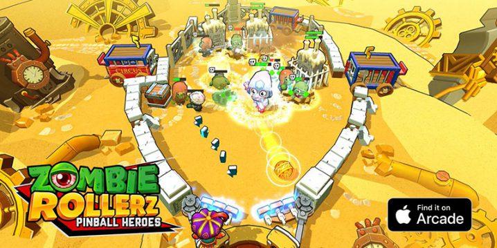 Zombie Rollerz: ピンボール・ヒーローズ