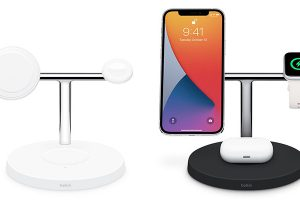 Belkin BOOST↑CHARGE PRO 3-in-1 Wireless Charger with MagSafe