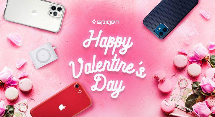 Spigenのバレンタインキャンペーン