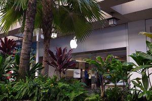 ハワイのApple Store